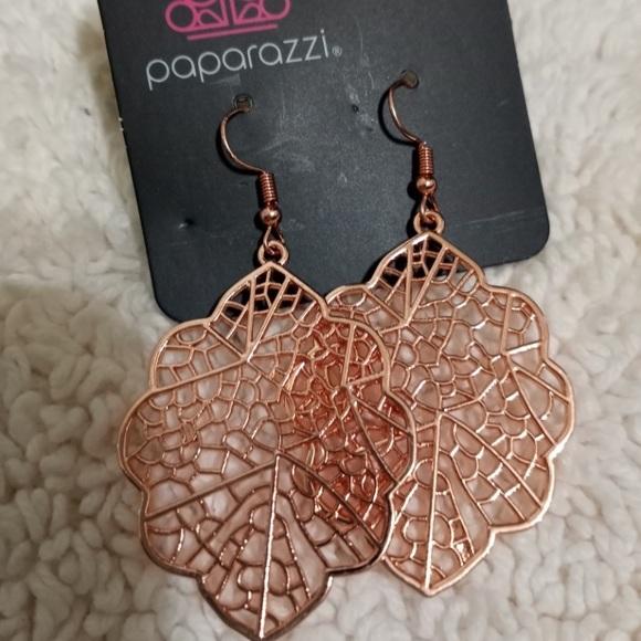 Meadow Mosaic Cooper Earrings NWT
